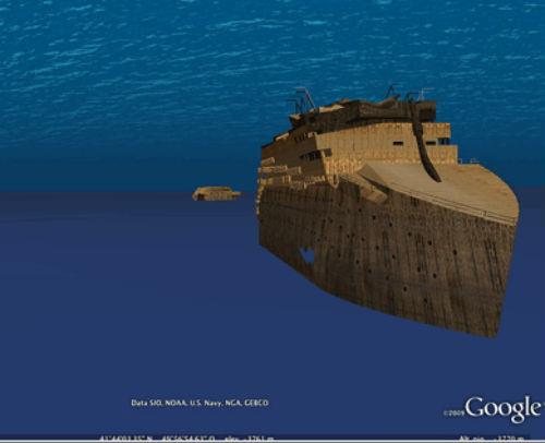 curiosidades de google earth