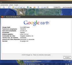 Instalación de Google Earth