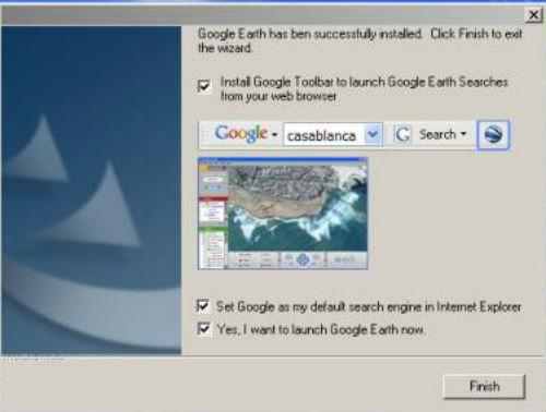Instalación de Google Earth
