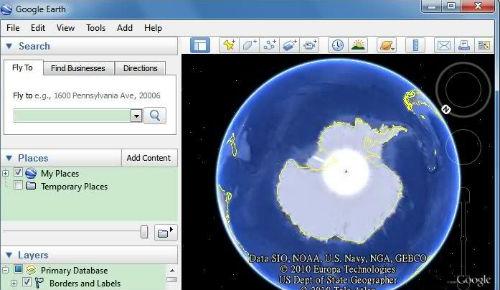 google earth portable